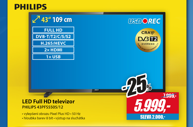 Philips led full hd televizor