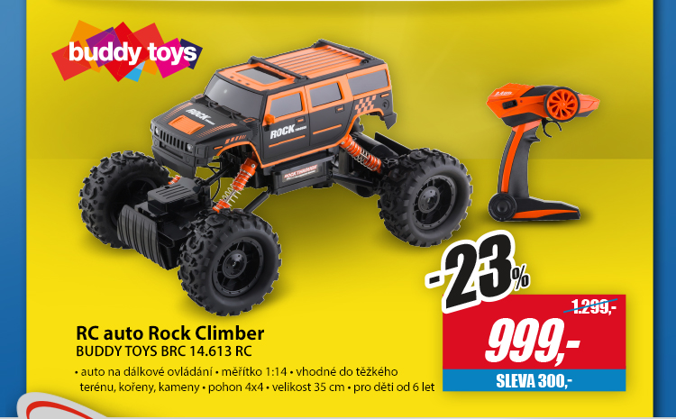 Buddy toys rc auto rock climber