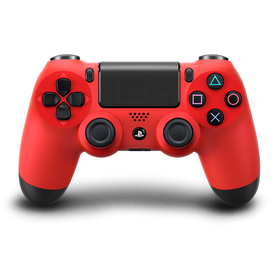 SONY DUAL SHOCK red