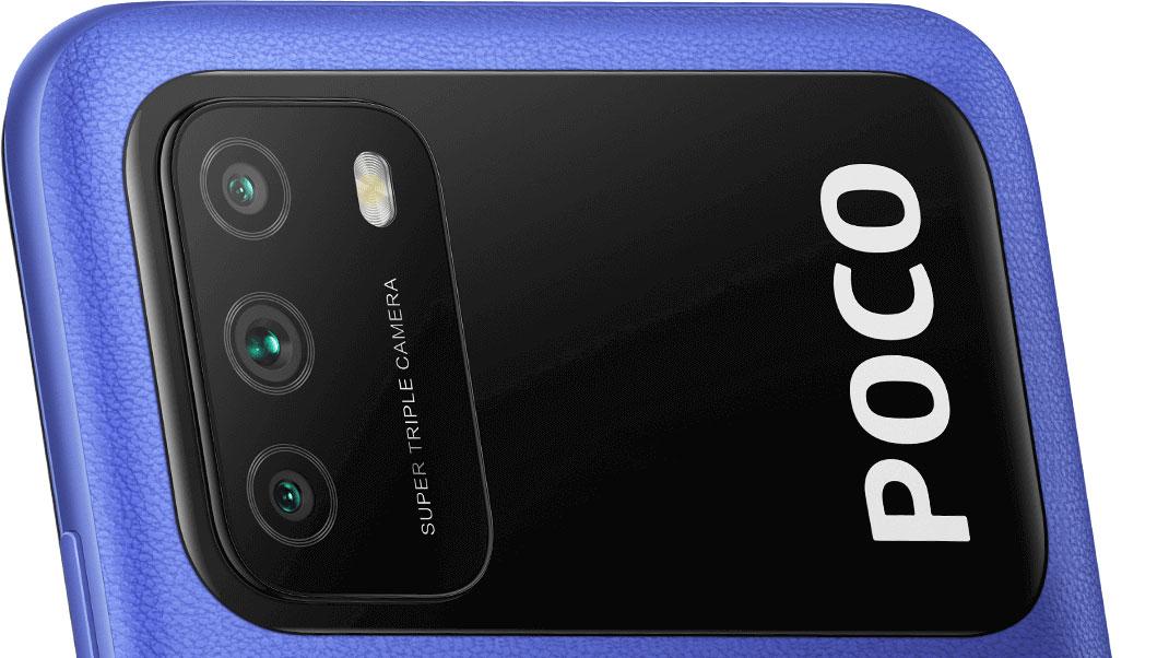 Xiaomi POCO M3 perfektní snímky